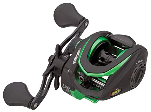 Lew s Fishing Mach Speed Spool MCS Casting Reel with 7.5 1 Gear Ratio, 10 Bearings, and 10lbs. Max Drag