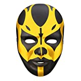 Goldust Black Gold Plastic Halloween Party WWE Mask