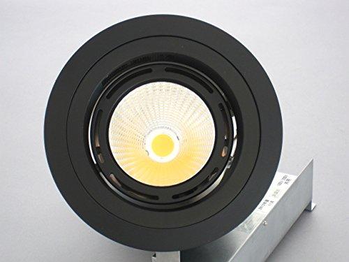 ユニティ LEDダウンライト 高照度&軽量 CDM100W相当 埋込穴125mm 色温度3500K 中角 本体黒 ハイホープ ダウン UDL-1242MB-35 B07BF81QY2