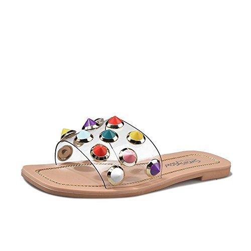 Chaussons Pantoufles Femme Pantoufles d' Chaussures Sandales ggAdqr