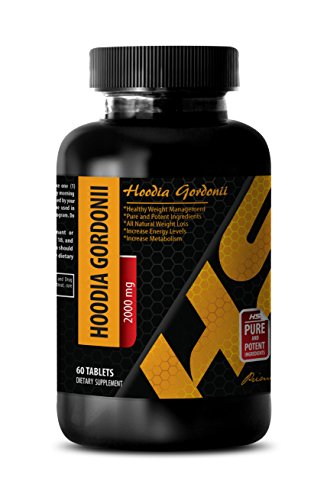 Weight loss - PURE HOODIA GORDONII EXTRACT 2000 Mg - Hoodia - 1 Bottle 60 Tablets (Hoodia Pure Tablets 60)