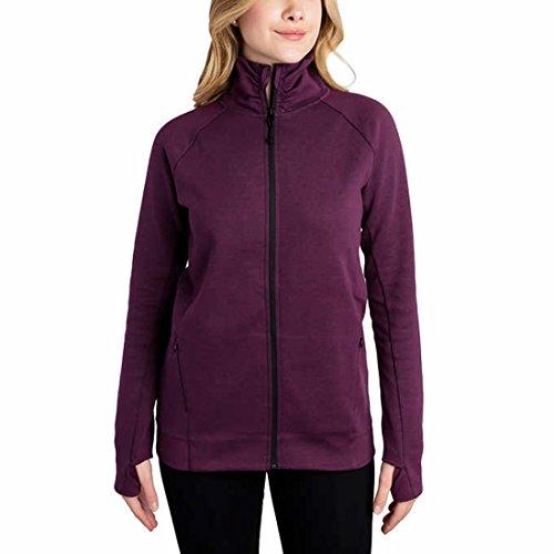 - Kirkland Signature Ladies Full Zip Jacket (Purple, Large)