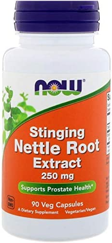 Now Foods, 3 Pack Stinging Nettle Root Extract, 250 mg, 90 Veg Capsules