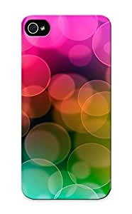Ellent Design Colorful Blurry Circles Phone Case For Iphone 5/5s Premium Case For Thanksgiving Day's Gift