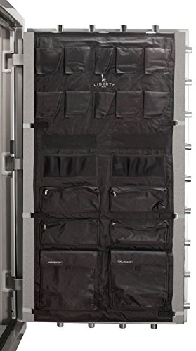 Liberty Gun Safe Door Panel Organizer 10588 Size 50 (29.5 x 62) for 72 Inch Tall Safes by Liberty Safe