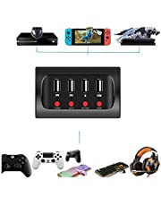 Keyboard and Mouse Converter, PG-9133 Mobile Game Adapter Keyboard&Mouse Converter for PS4/XBOX ONE/Switch Mainly Applicable for FPS Games