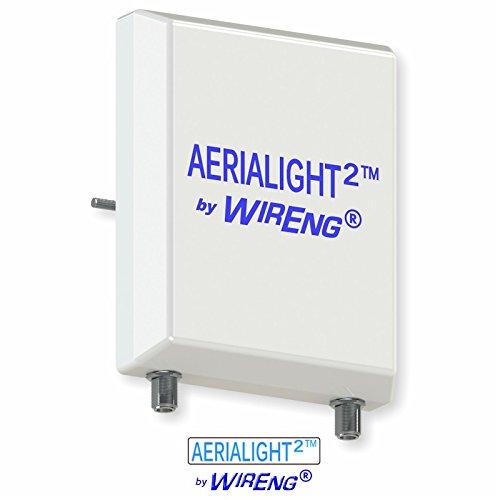 AeriaLight2TM Dual Antenna for Verizon Jetpack MHS900L True MIMO ±45° (AeriaLightTM 2)
