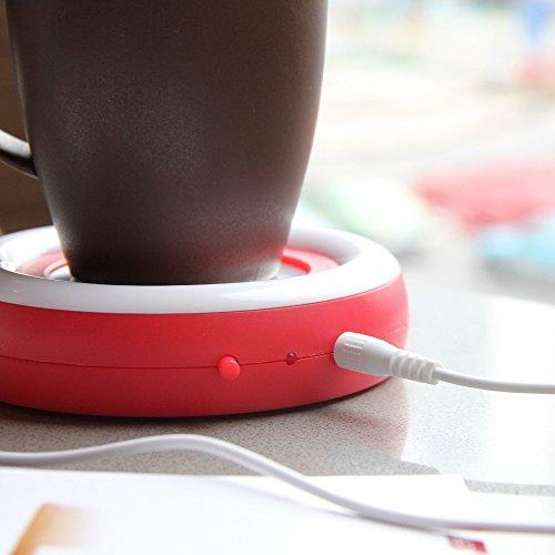 Beverage Warmer   USB Coffee/Tea Cup/Mug Warmer   Keep your Coffee or Tea drink warm for longer time by Ehome (Image #2)