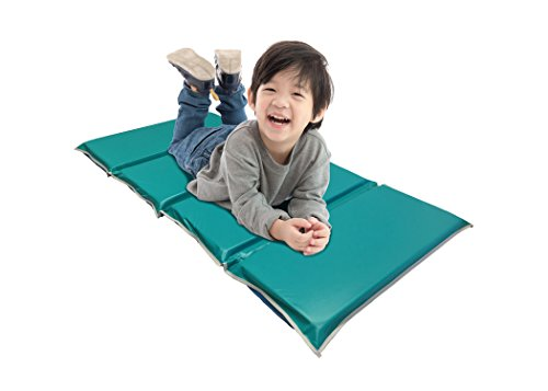 KinderMat, Heavy Duty Rest Mat, Blue/Teal, 2 Inches Thick, 48 x ()