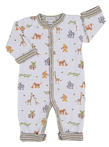 Kissy Kissy Baby-Boys Infant Jolly Jungle Reversible Playsuit-Multicolored-12-18 Months ()
