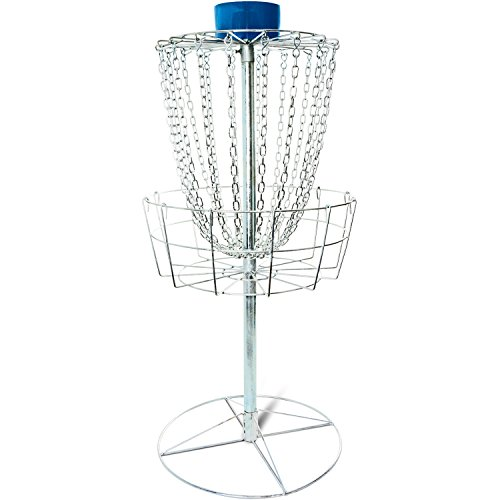 Titan Disc Golf Catcher Basket Target Portable Steel Chain practice frisbee hole by Titan Fitness