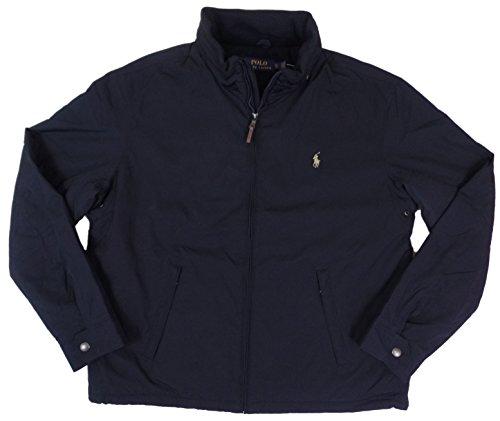 Polo Ralph Lauren Mens Perry Lined Winter Jacket (XLT, Aviator Navy) by Polo Ralph Lauren
