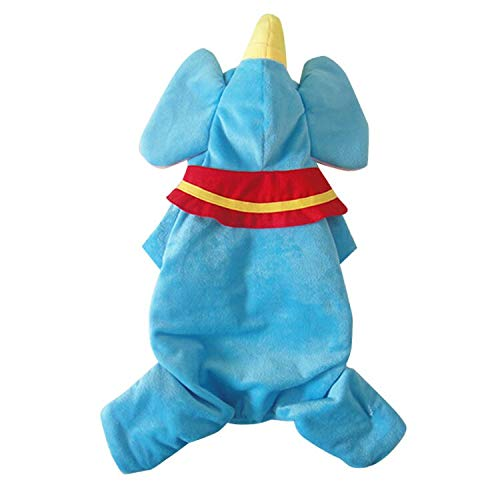 AZUDAN Dog Coats & Jackets Cartoon Dogs Halloween Flying Elephant Morph Suits Clothes pet Dog Christmas Costume Sweaters Doggy Clothes -