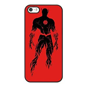 The Flash G8D6XC2H Caso funda iPhone 5 5s Caso funda del teléfono celular Negro