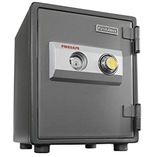 First Alert 2054F 0.80-Cubic Feet 1-Hour Steel Fire Safe with Combination Lock (Gray) (B000MPMEZW) | Amazon price tracker / tracking, Amazon price history charts, Amazon price watches, Amazon price drop alerts