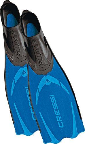 Cressi Unisex Flossen Pluma, blau, 39/40, CA172039