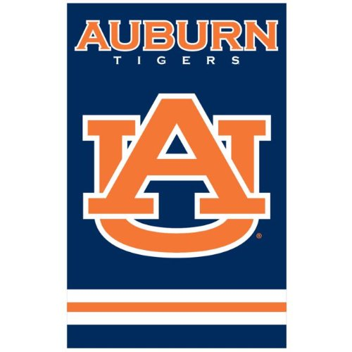 Auburn Tigers Official NCAA 44 inch x 28 inch Banner Flag by Party Animal
