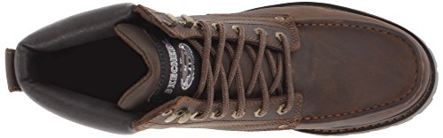 SKECHERS USA Bruiser Chukka Boot Dark Brown