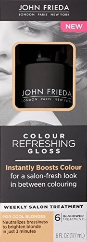 Color Conditioning Gloss ((2 Pack)-John Frieda Colour REFRESHING Gloss, For Cool Blondes, 6 FL OZ each by John Frieda)