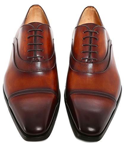 de Oxford Thunder Cuir Cognac Hommes Cognac Magnanni Chaussures 1X4qTwwE