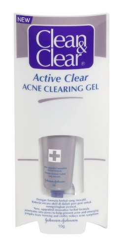 Clean & Clear active acné claire Clearing Gel 10 g