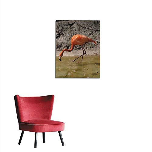 (longbuyer Photographic Wallpaper Fenicottero Rosso Mural 16
