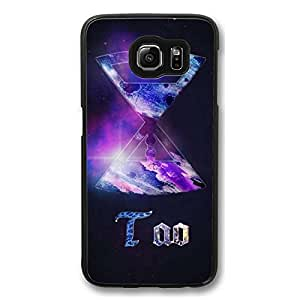 Galaxy S6 Case, S6 Cases, Customize Too Shock Absorption Bumper Case Protect S6 Hard PC Black Case Cover for Samsung Galaxy S6