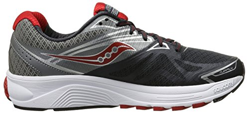 Entra Ride de Charcoal nement Saucony Homme Red 9 Grey Course Pop A47wxtxq