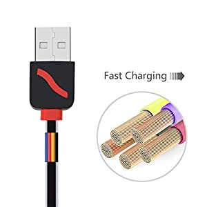 USB Cable, Retractable 4 in 1 Multifunctional Universal USB Charger Cable Adapter Connector for iPhone 7 7 Plus, 6S, 6 Plus, 5S, 4S, iPad Mini, iPod, Galaxy S5 S6, and More- 3 Feet
