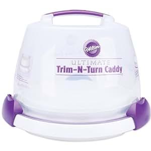 Wilton Bakeware Decorate Smart Ultimate Trim N Turn Cake Caddy