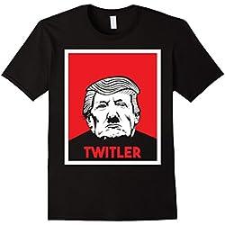 Mens Funny Anti Donald Trump T Shirt - 2nd Edition XL Black