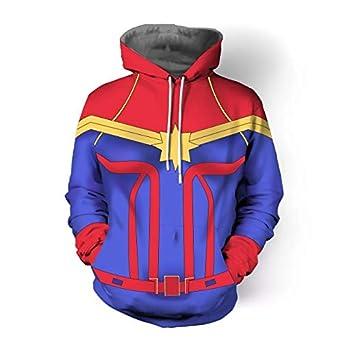 Impreso en 3D Capitán Marvel Carol Danvers Sra. Disfraces de ...