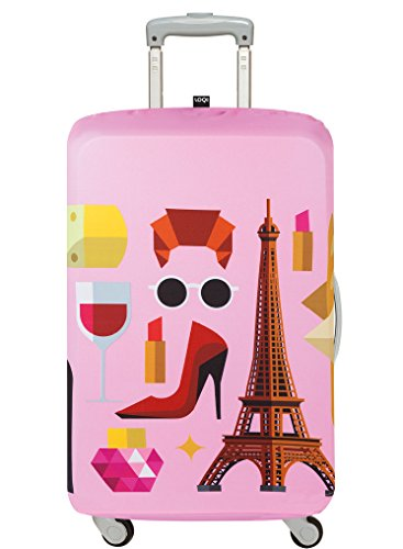 Cheap LOQI Hey Studio Paris Luggage Cover