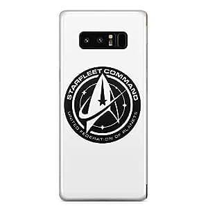 Loud Universe Starfleet Command Log Samsung Note 8 Case Star Trek Samsung Note 8 Cover with 3d Wrap around Edges