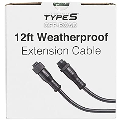 Type S Extension Cable (AC55886-60/6) 12ft Weatherproof Road Smart LED Lightning Products, 2 Pack: Automotive