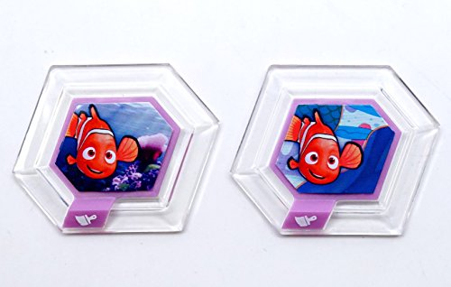 LOT OF 2- Disney Infinity Nemo's Seascape & Marlin's Reef POWER -