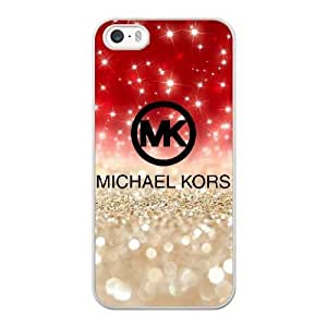 Custom made Case,(MK) Michael Kors Cell Phone Case for iPhone 5 5S SE,White Case With Screen Protector (Tempered Glass) Free S-7274601