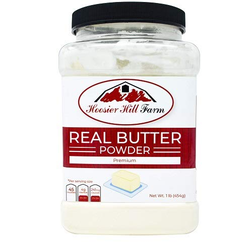 B00DC5ZKQE Hoosier Hill Farm Real Butter powder, 1 lb 41hJjriSPVL