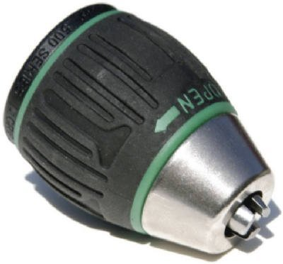 Jacobs 31048 6000-Series 1/2-Inch Soft Grip Sleeve Keyless Drill Chuck with 1/2 to 20 Threaded Mount by Apex Tool Group