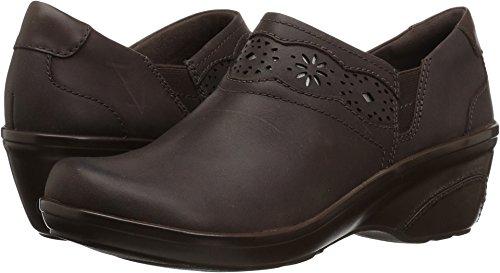 Clarks Women's Marion Helen Loafer, Dark Brown Leather, 6 M US