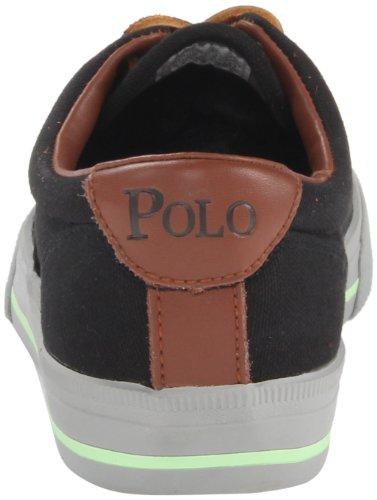 Polo Ralph Van Mensen Lauren Vaughn Fashion Sneaker Polo Zwart / Lime / Grijs