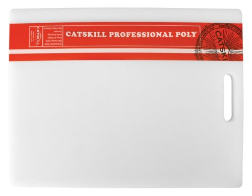 Catskill Professional Cutting Board - Catskill Craftsmen 12x16x5/8-Inch Professional Poly Cutting Board by Catskill Craftsmen