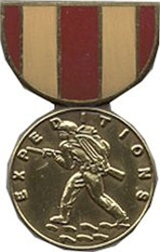 Marine Expeditionary Medal (Marine Corps Expeditionary Mini Medal Small Pin)