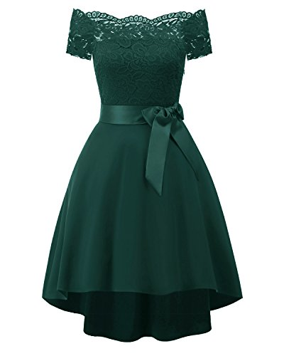 EvoLand Womens Spring Formal Dresses For Women Party Wedding Guest Dresses Green
