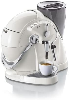 Cafetera expreso caffisimo Italy Nautilus s01hs perlmutterweiss ...