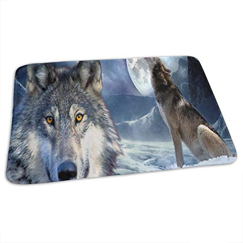 Changing Pad Wolf Howling Baby Diaper Incontinence Pad Mat Special Kids Bed Wetting Pads Sheet For Any Places For Home Travel Bed Play Stroller Crib Car