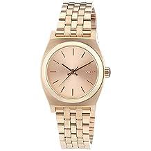 Nixon Women's Time Teller A399897 Rose Gold Stainless-Steel Quartz Watch