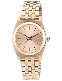 Nixon Women's Time Teller A399897 Rose Gold Stainless-Steel Quartz Watch