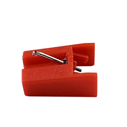 smileyshy Record Player Needle Diamond Tip Needle For Turntables Crosley For Retro Phonograph Red
