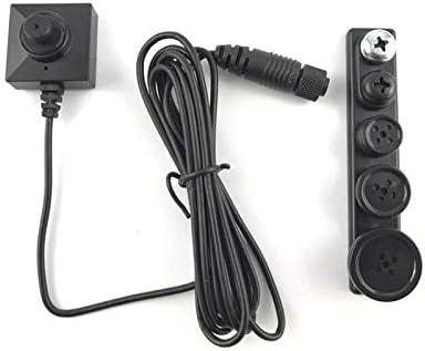 Mini cámara espía en botón de Baja luminosidad BU18 Neo